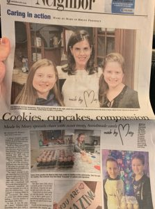 "Daily Herald's ""Community In Action"" article about Made By Mary Community"